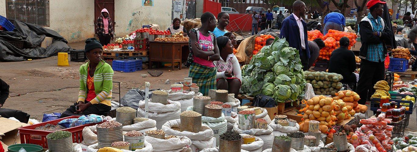 Zimbabwe marketplace