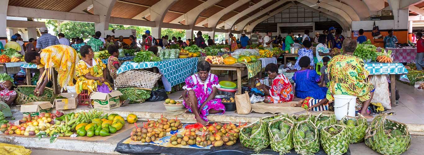 Vanuatu market